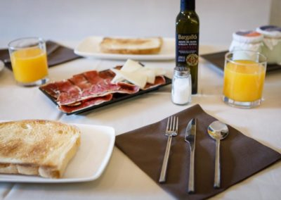 Desayunos en Hostaltina