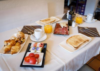 Desayuno Trastienda