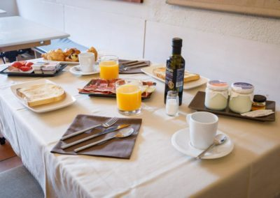 Desayuno Hostaltina Trastienda